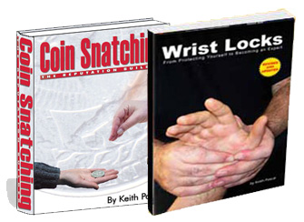 Coin Snatching Book + Wrist Locks Book