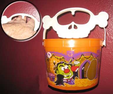 mcdonald's happy meal bucket to train eye jabs