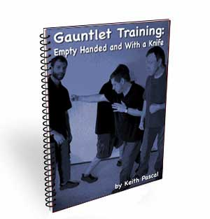 martial arts exercises -- gauntlet and circles
