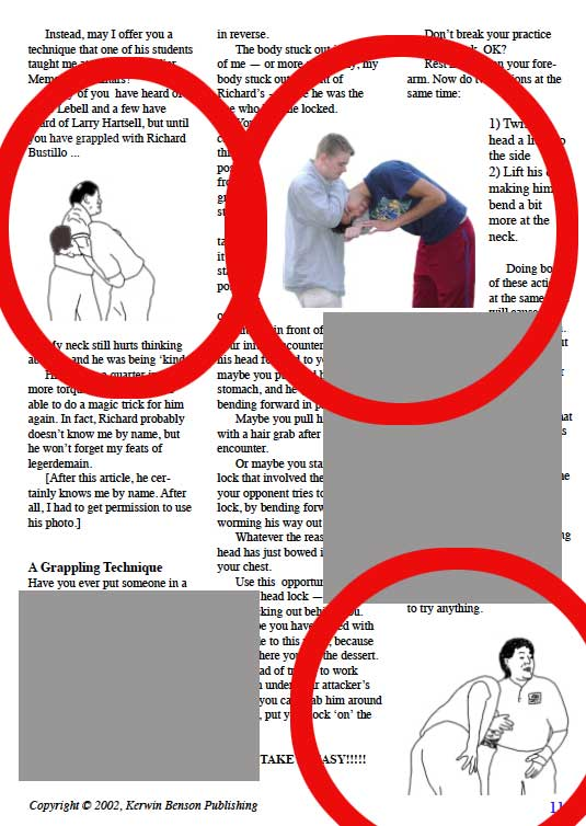 head locks for self-defense