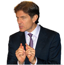 Dr. Oz's Weight Gains